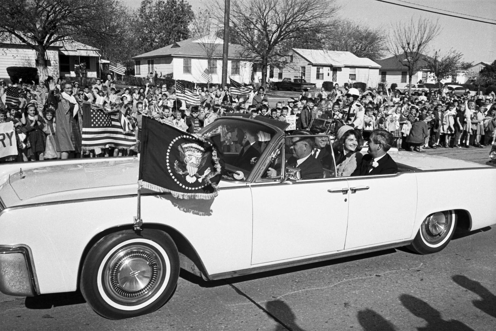 Урочиста зустріч Джона і Жаклін Кеннеді в Техасі 22 листопада 1963 року. Фото:
