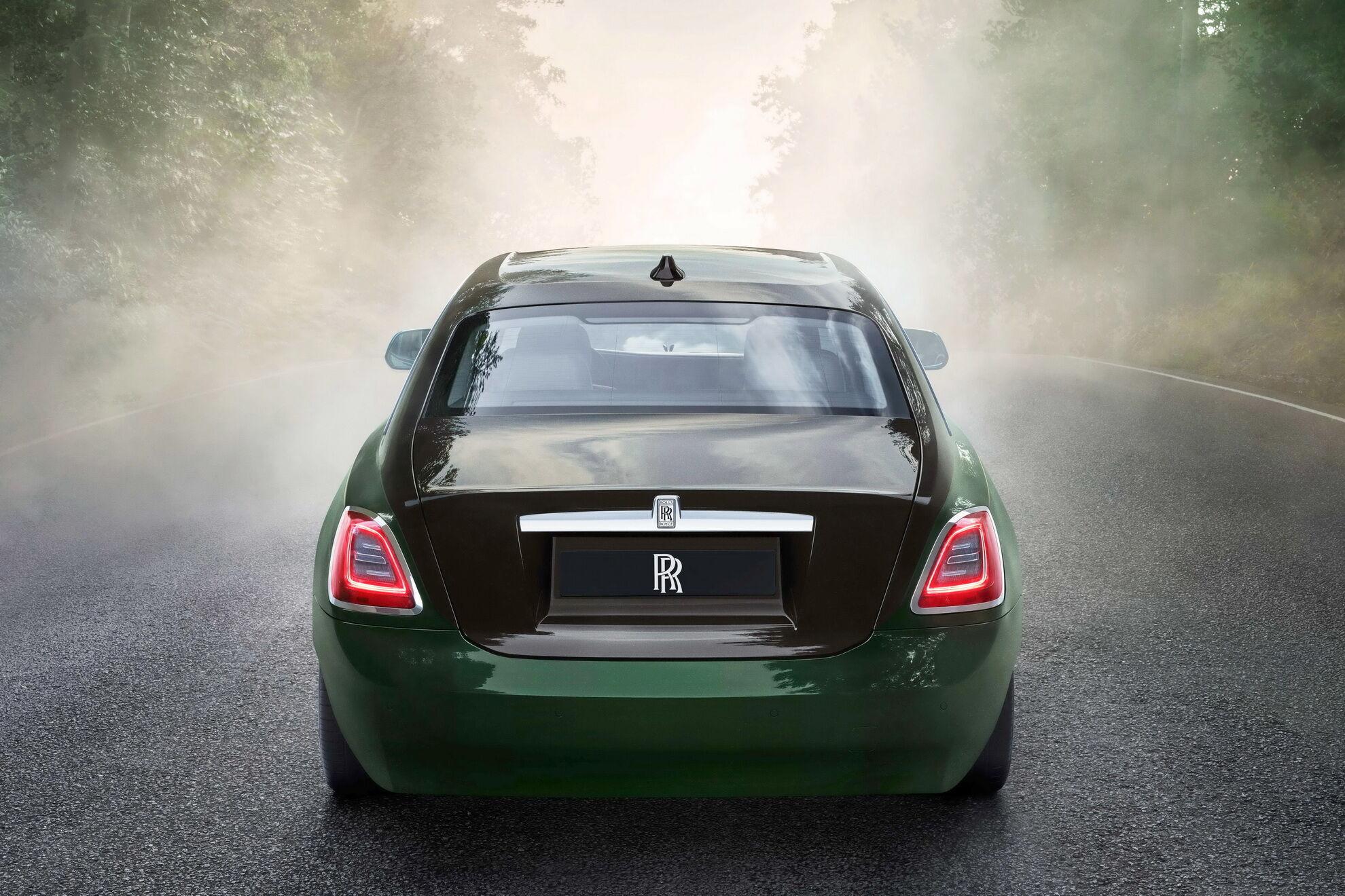 Rolls-Royce Ghost Extended. Фото: