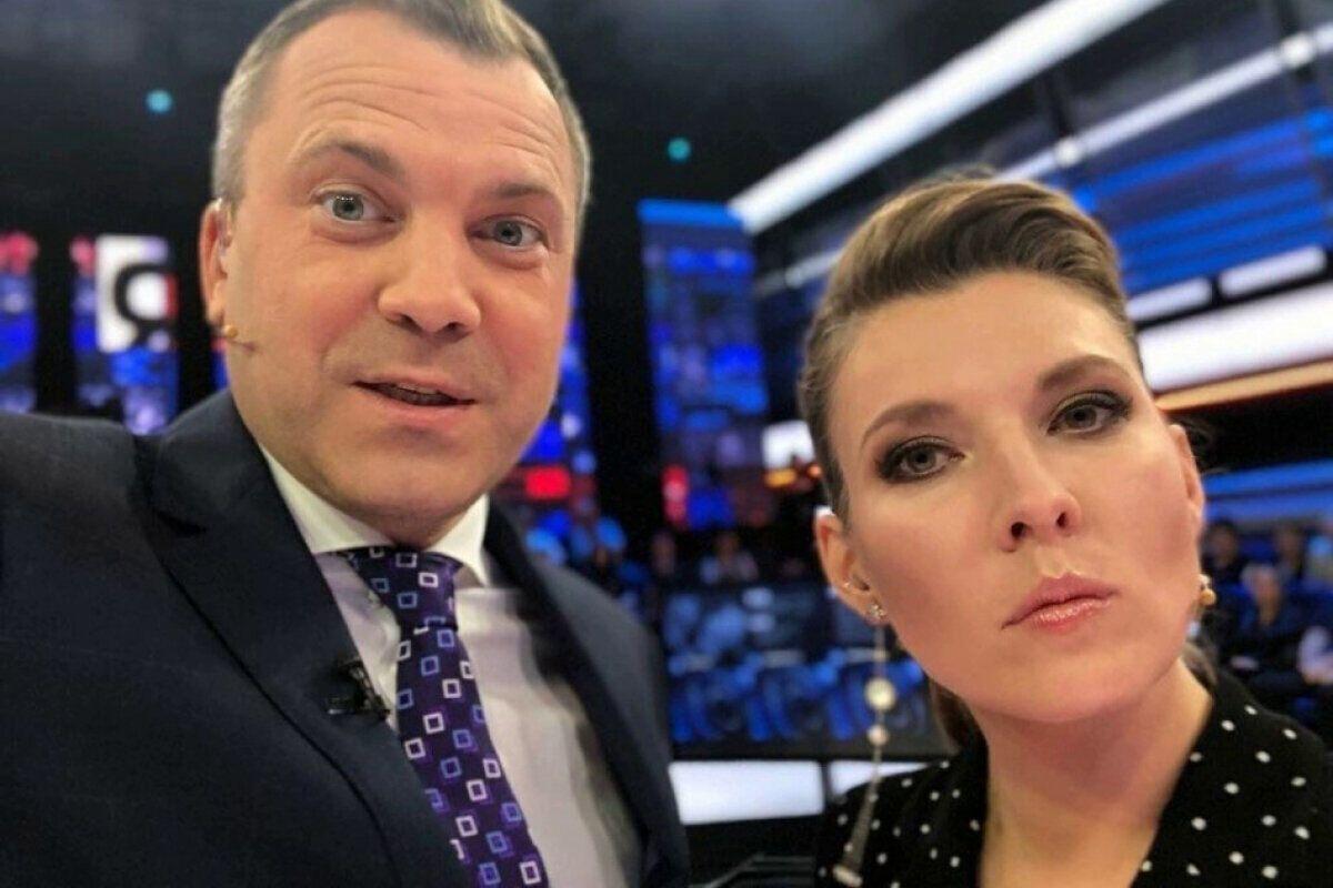 Оольга Скабеева и Евгений Попов.
