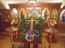 На Воздвиження в храмах проходять Всенічне бдіння і Божественна Літургія