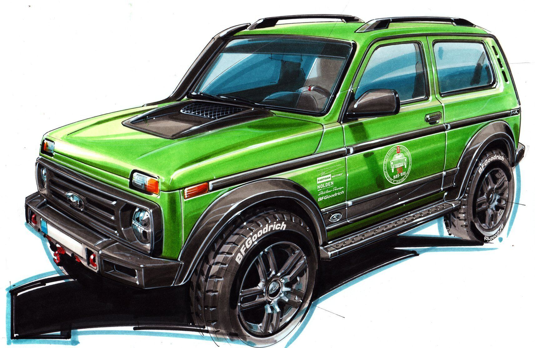 Lada 4x4 50th Anniversary Limited Edition. Фото: