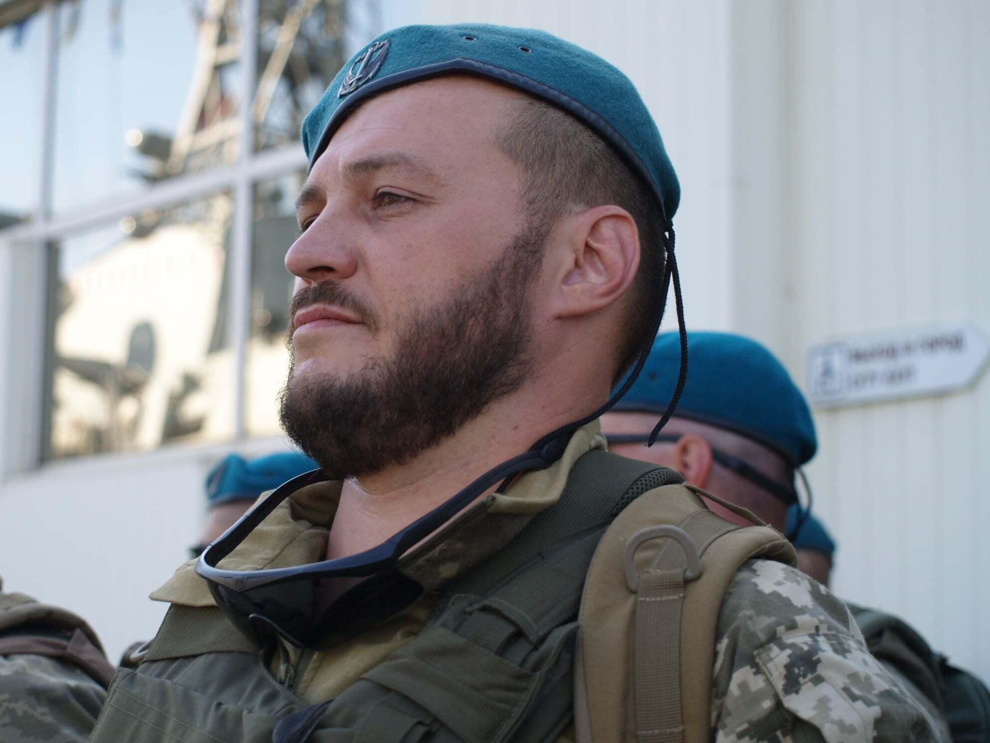 Костянтин Оверко служив у 503 ОБМП з жовтня 2017 року.