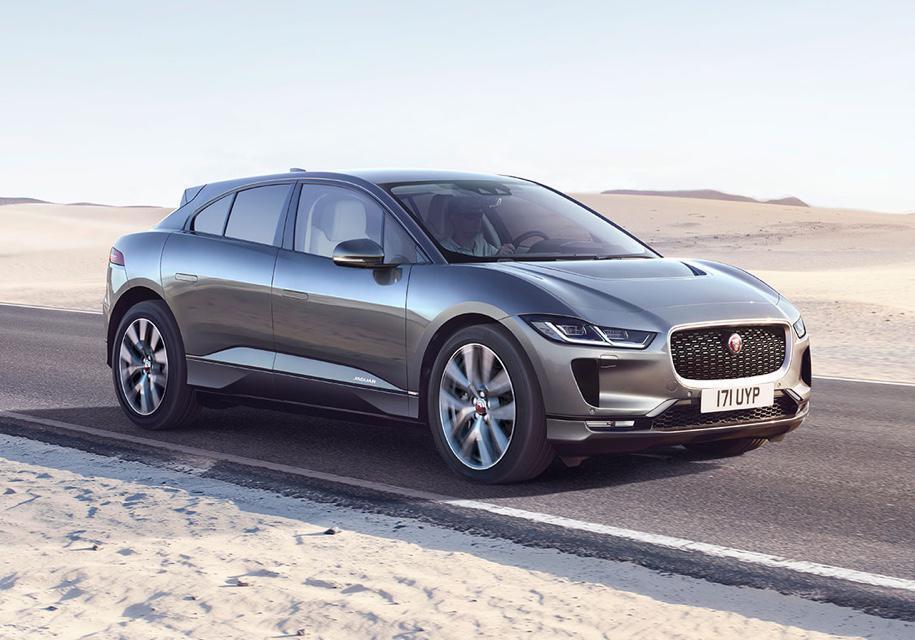 Jaguar I-Pace.