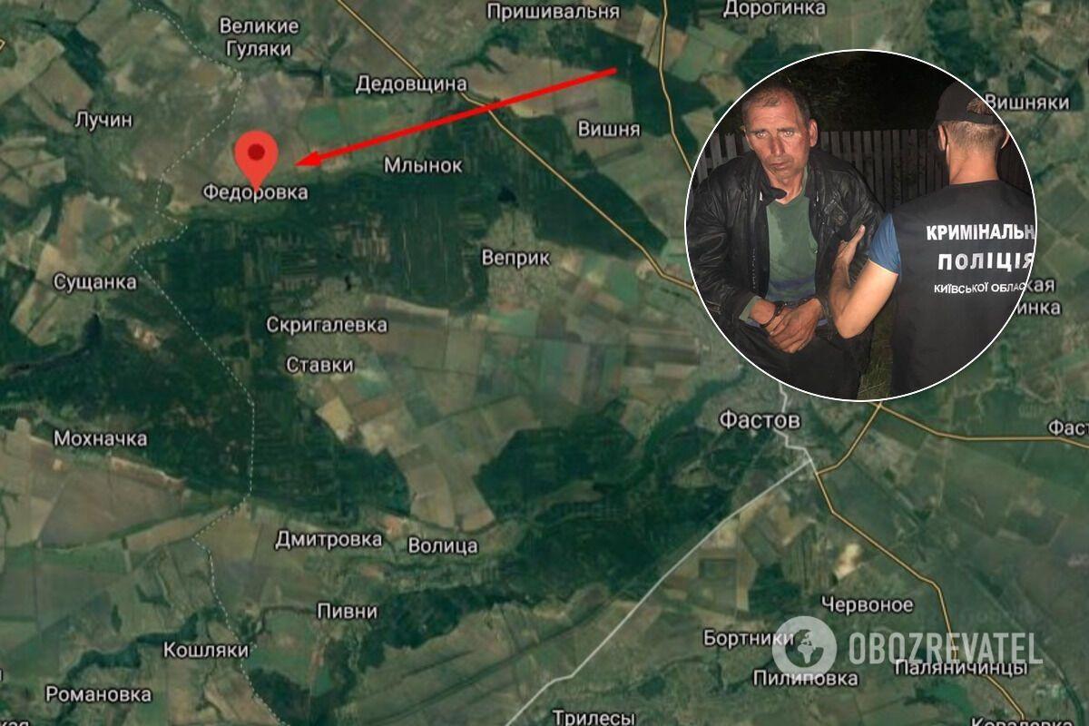 53-летнего серийного насильника и грабителя задержали после последнего нападения в Фастовском районе