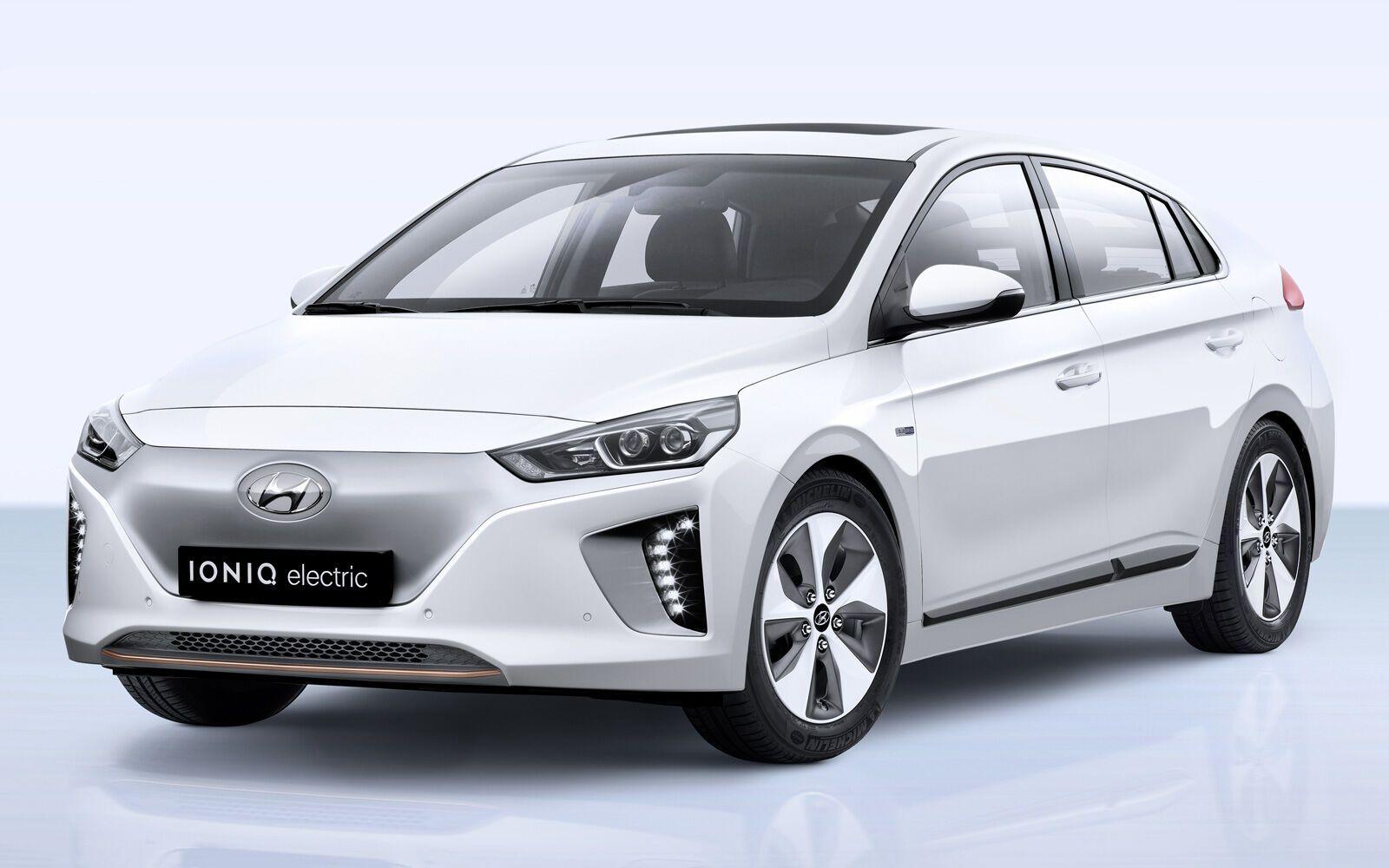 Hyundai Ioniq Electric.