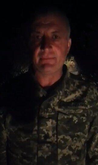 Майор Юрий Грибчук извинился перед матерью погибшего воина.