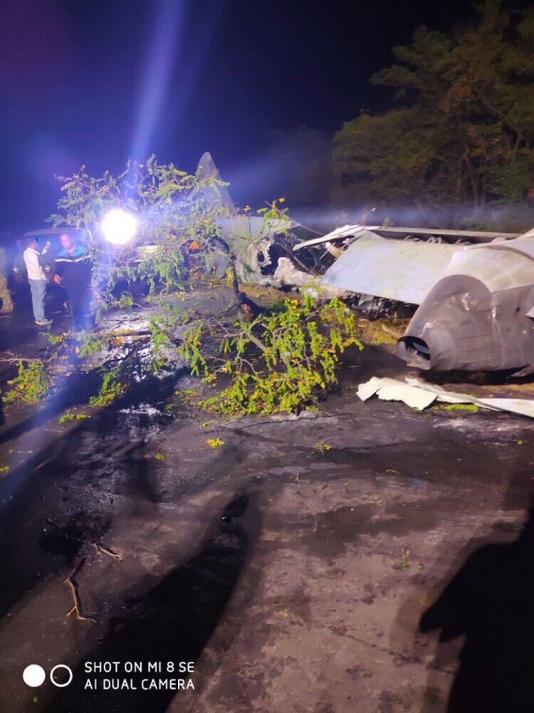 У Чугуєві розбився літак Ан-26.