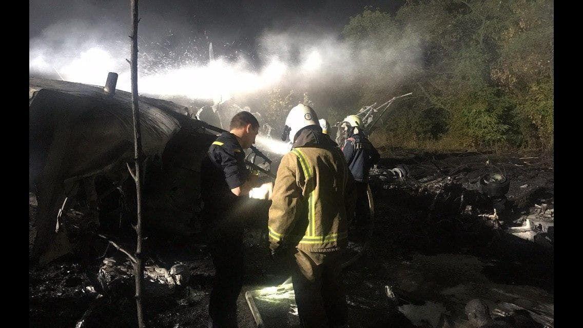 Рятувальники на місці катастрофи 25 вересня