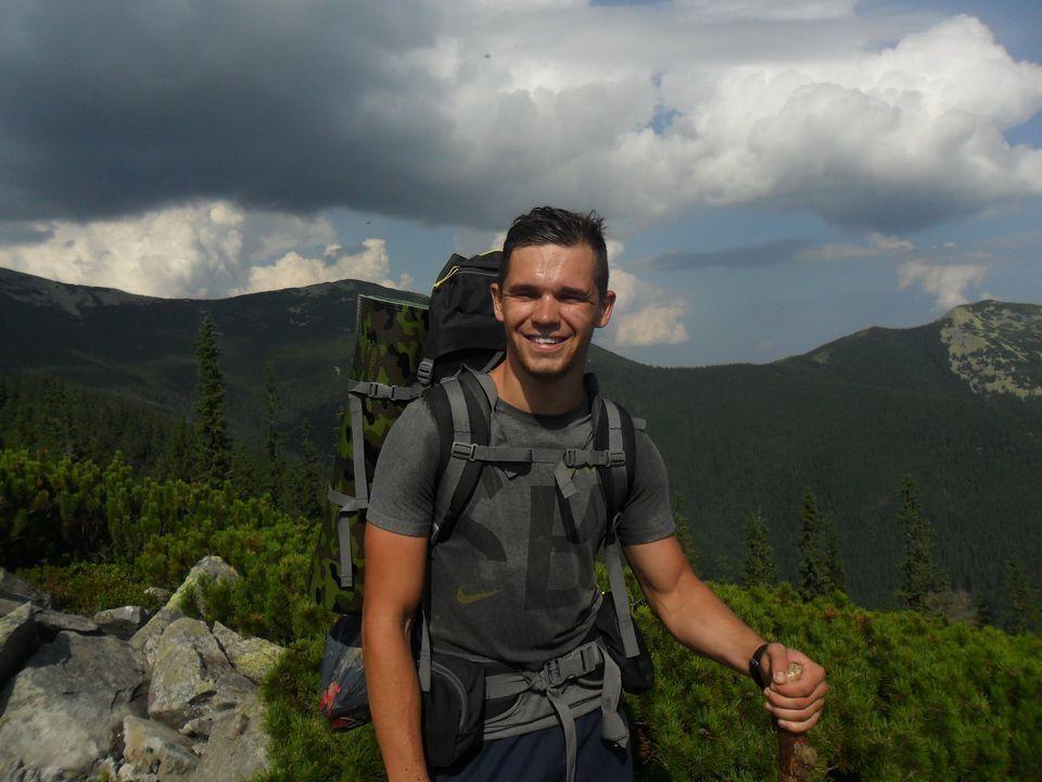 Андрій Померанцев любив гори