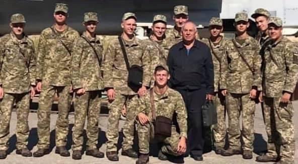 Курсанти 133-ї групи ХУПС, які розбилися під Чугуєвом.