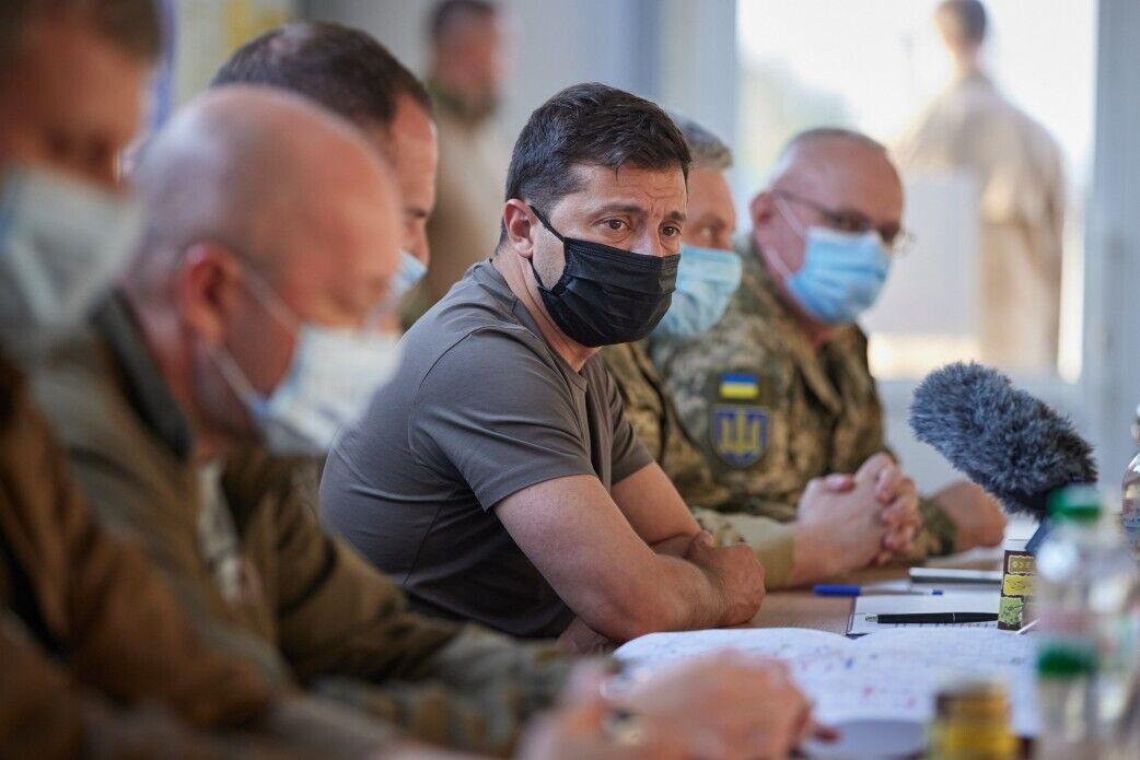 Зеленский провел совещание по вопросам работы ТКГ.