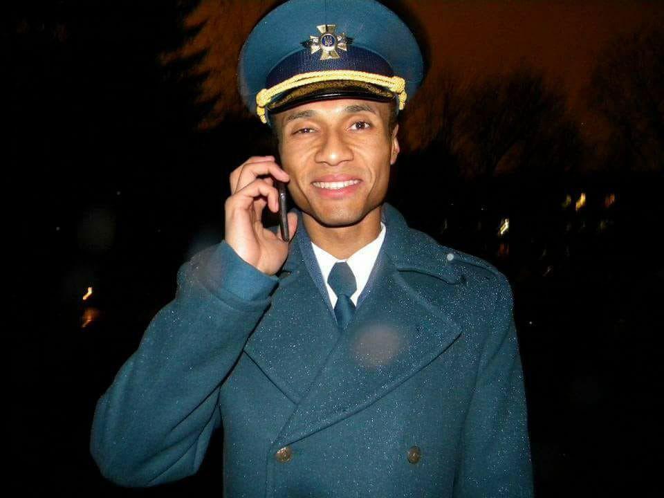 Пилот Ашраф Мсуя