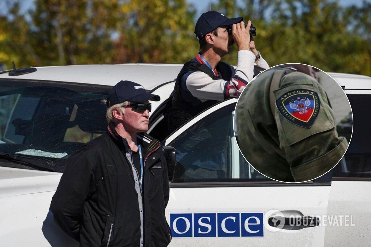"В ОБСЕ заметили террористов с повязками ""СЦКК"" на участках разведения"
