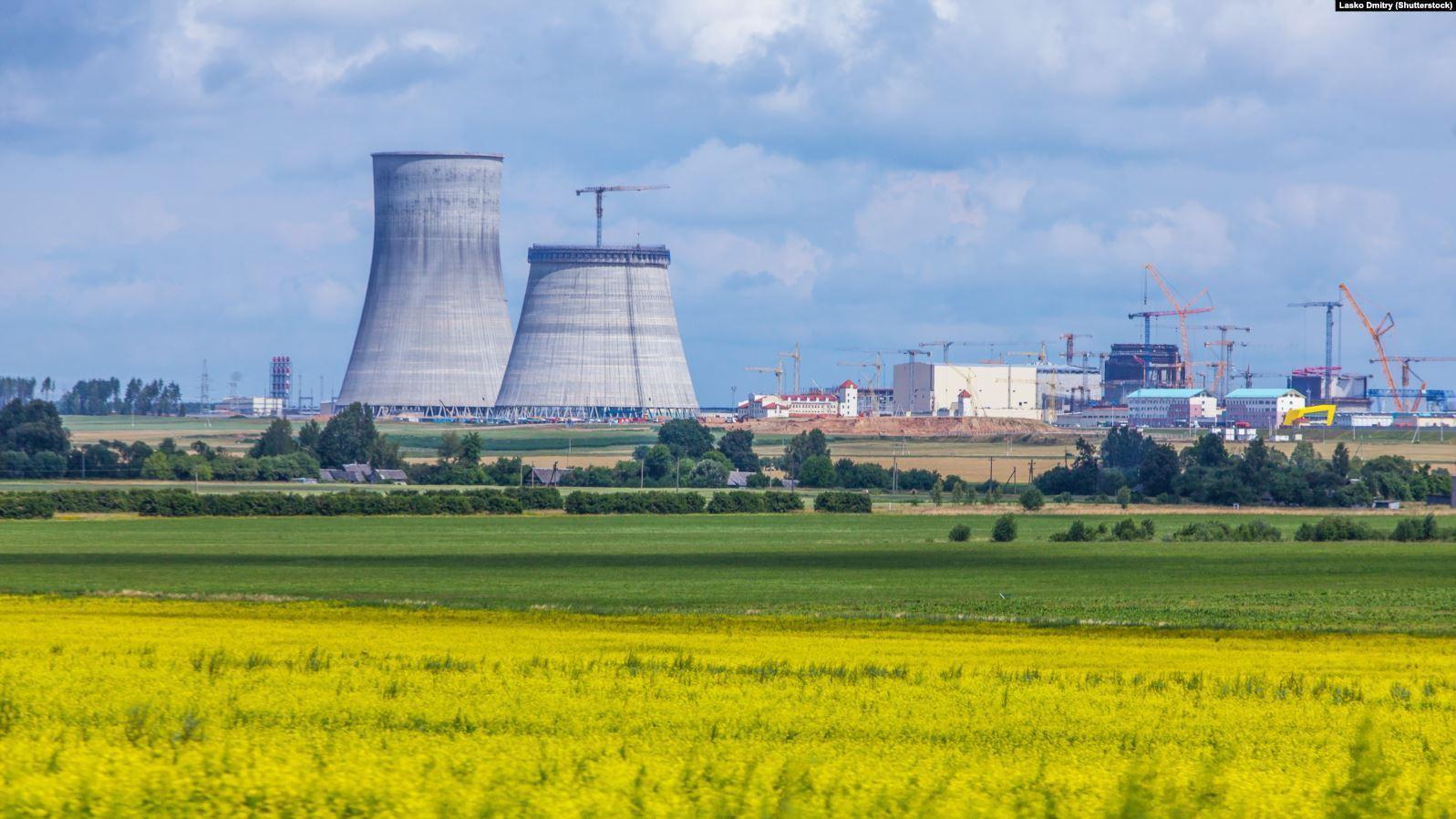 Островецкая АЭС в Беларуси