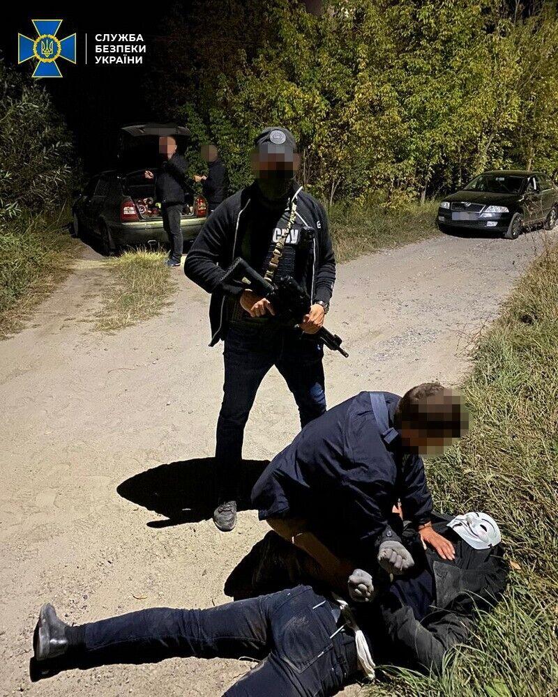 Затримання злочинної банди