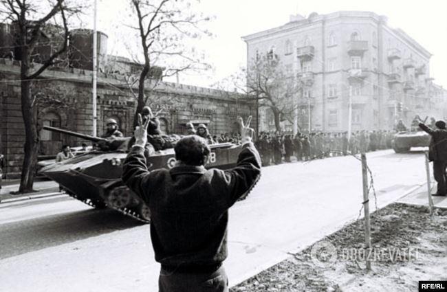 Баку, січень 1990 року