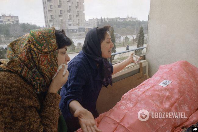 Похорон у Баку, січень 1990 року