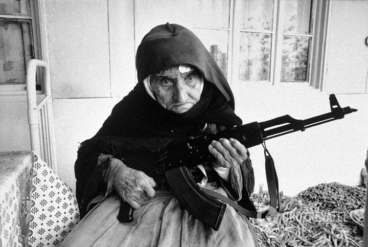 106-річна вірменка, село Тих, 1 січня 1990 року
