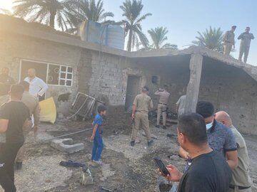 Ракета попалап в дом местных жителей.