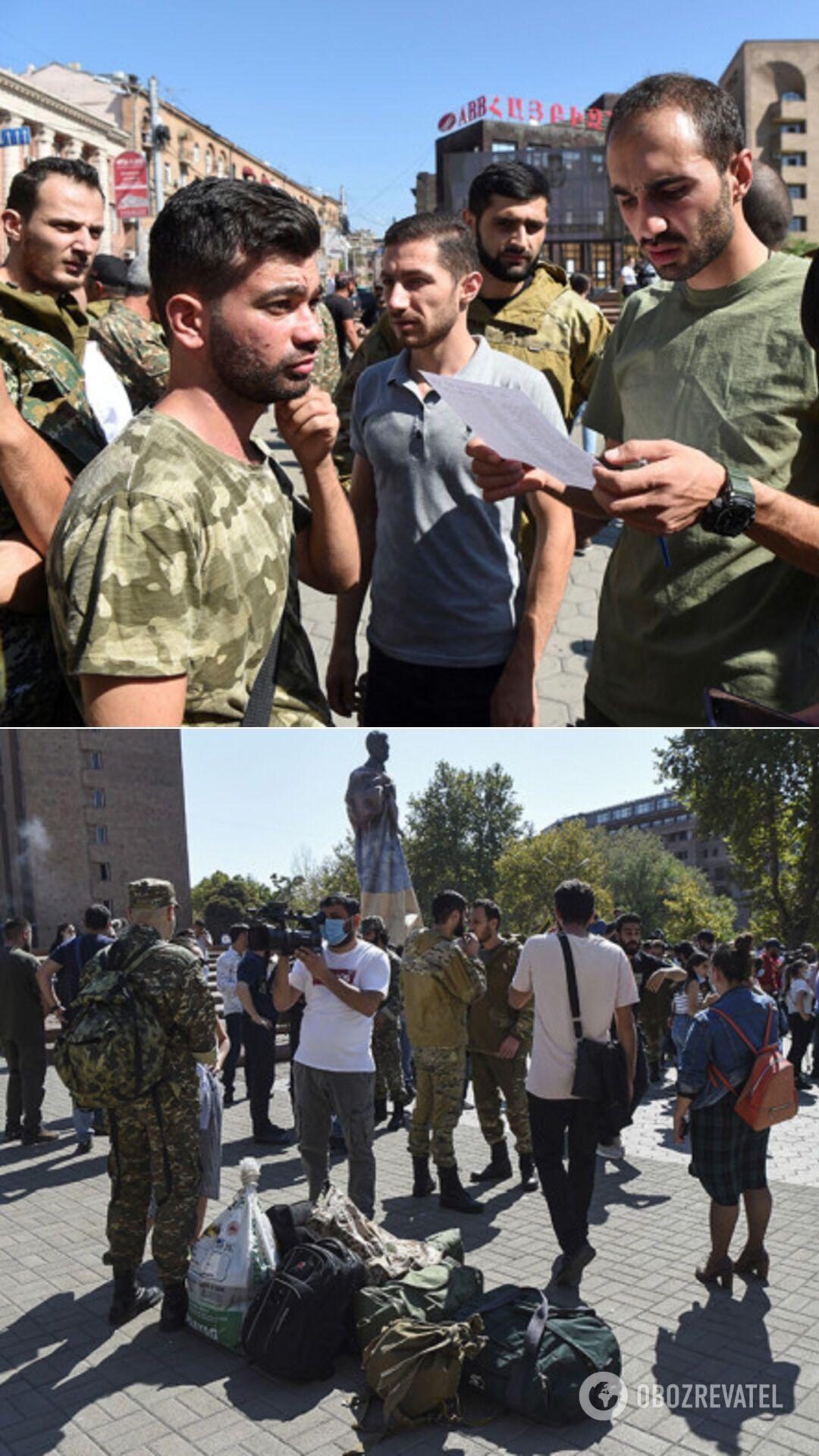 У Вірменії оголосили воєнний стан, 2020 рік