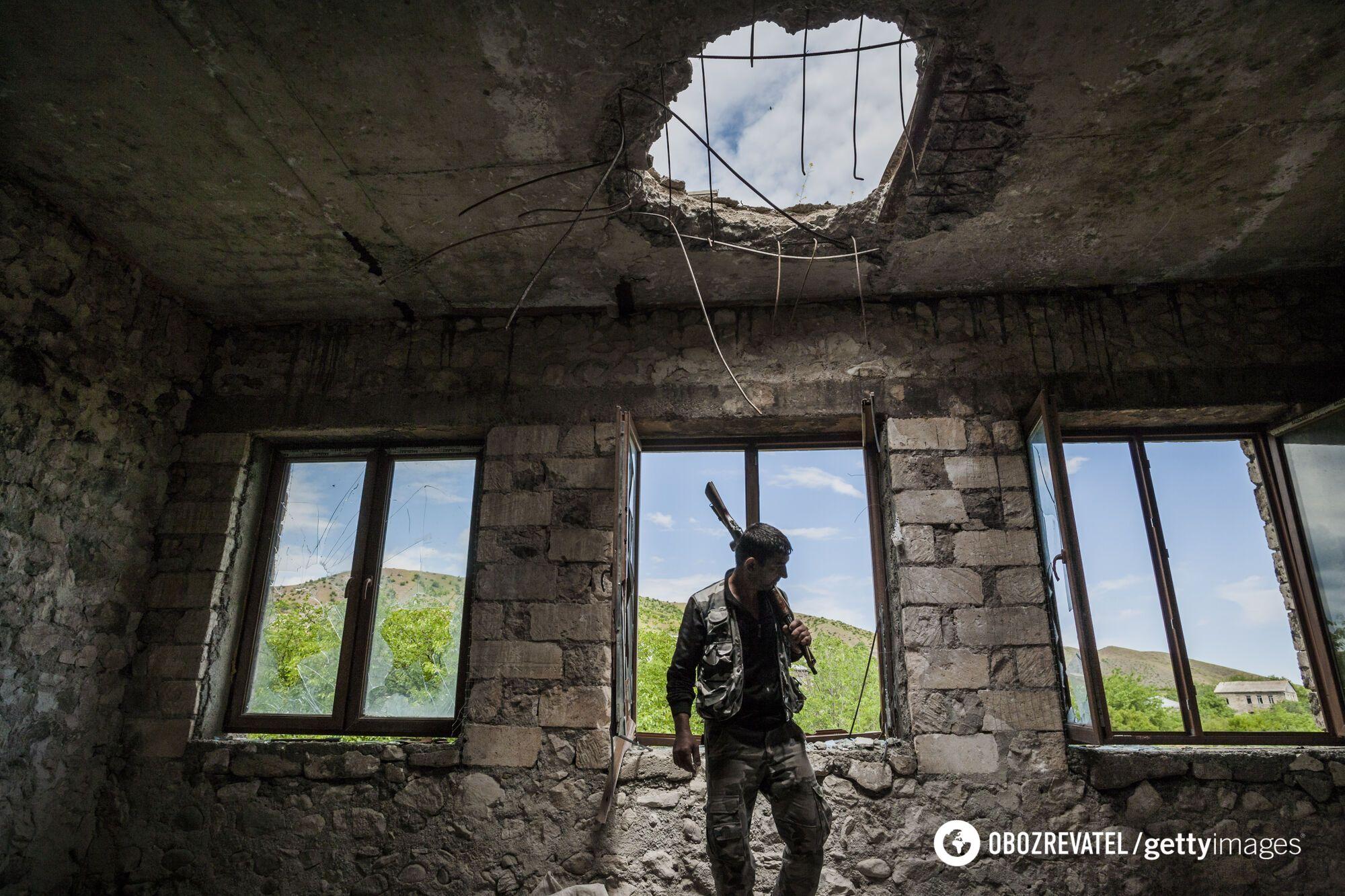 Стадія збройного протистояння почалася в 1987 році