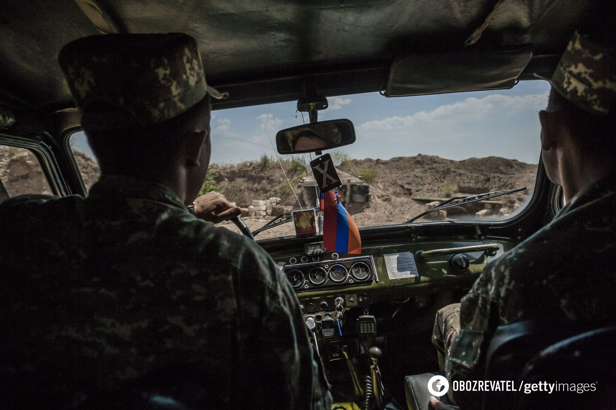 Нагірний Карабах розташовується на Південному Кавказі