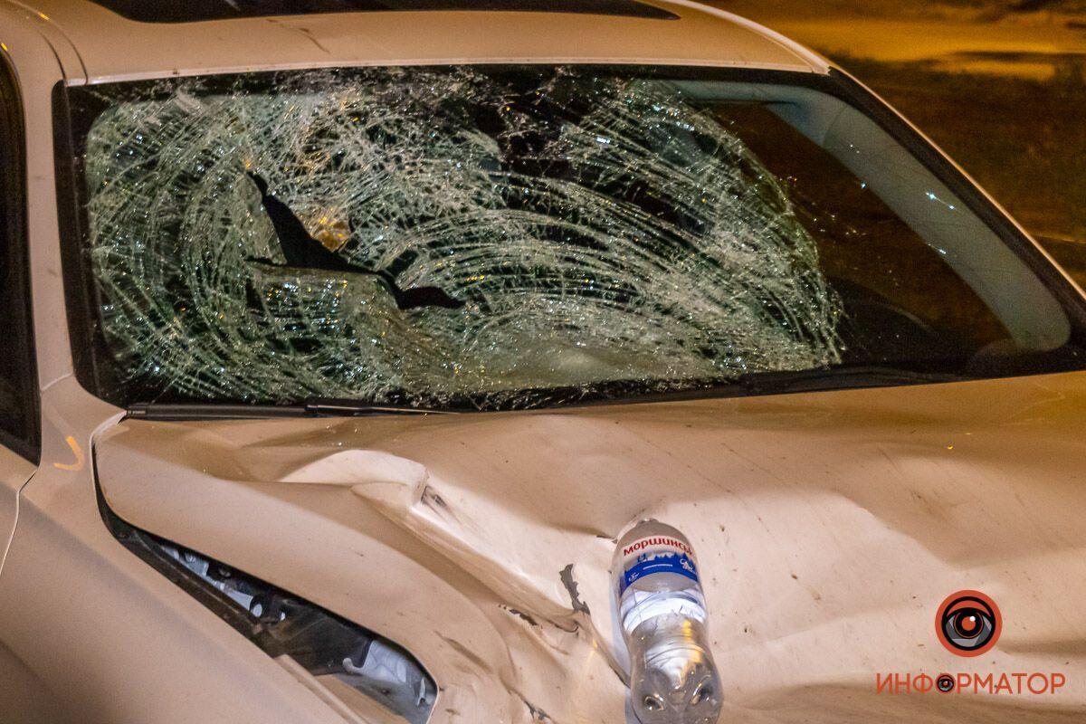 Авто отримало сильні механічні пошкодження.