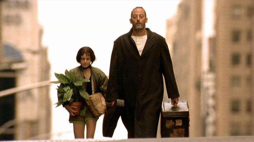 """Знаменитий кадр з фільму """"Леон""""."""