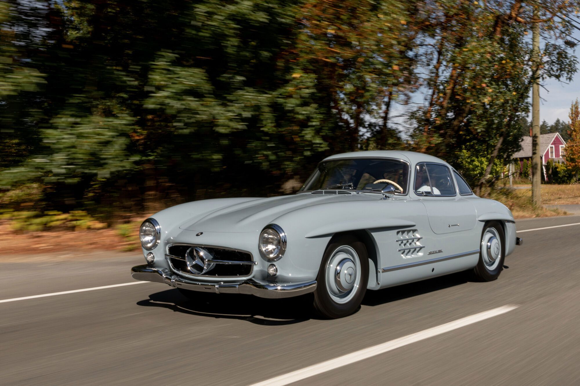 1957 Mercedes-Benz 300 SL. Фото: