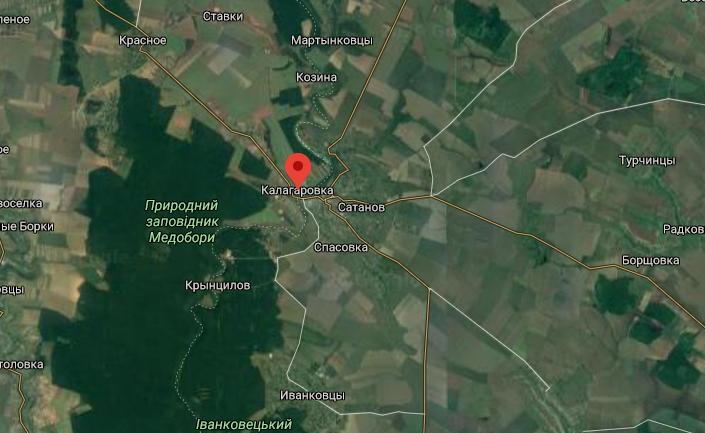 Потерпілий живе в селі Калагарівка.