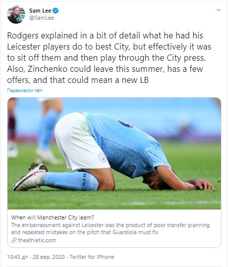 """""""Манчестер Сити"""" может продать Зинченко"""