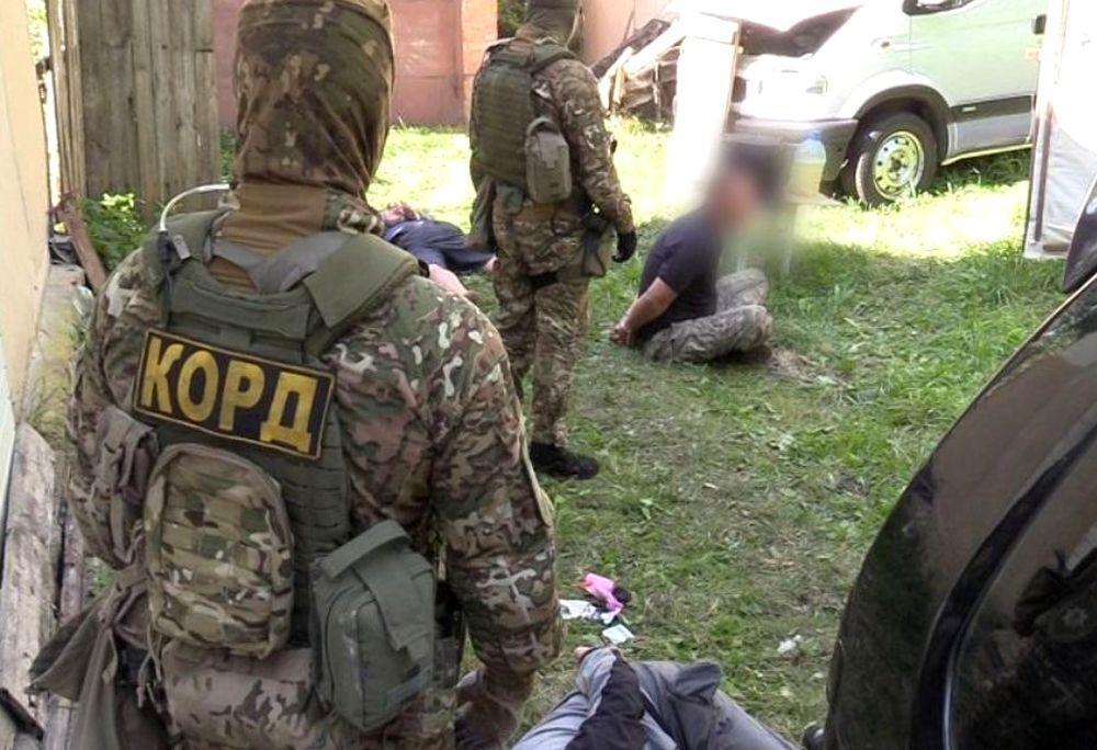 Похитителей бизнесмена задержал полицейский спецназ.