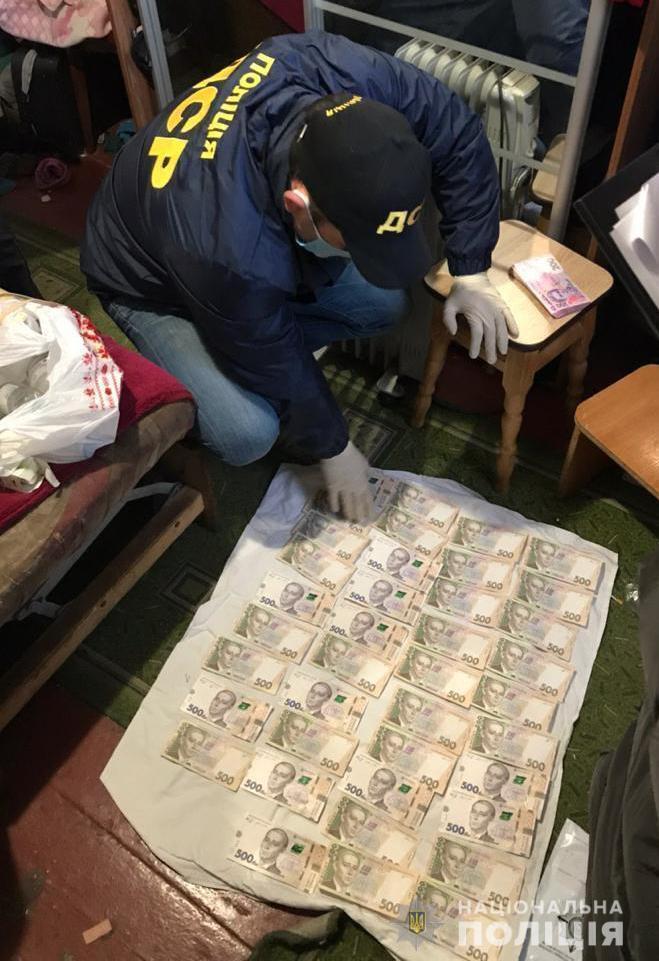 Правоохранители изъяли у наркобизнесменов крупную сумму денег.
