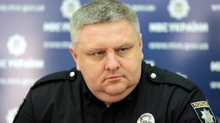 Начальник полиции Киева Андрей Крищенко.