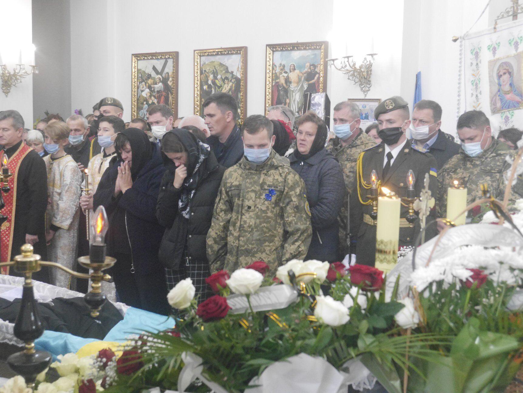 Вільхового поховали в Сокальському районі Львівщини.