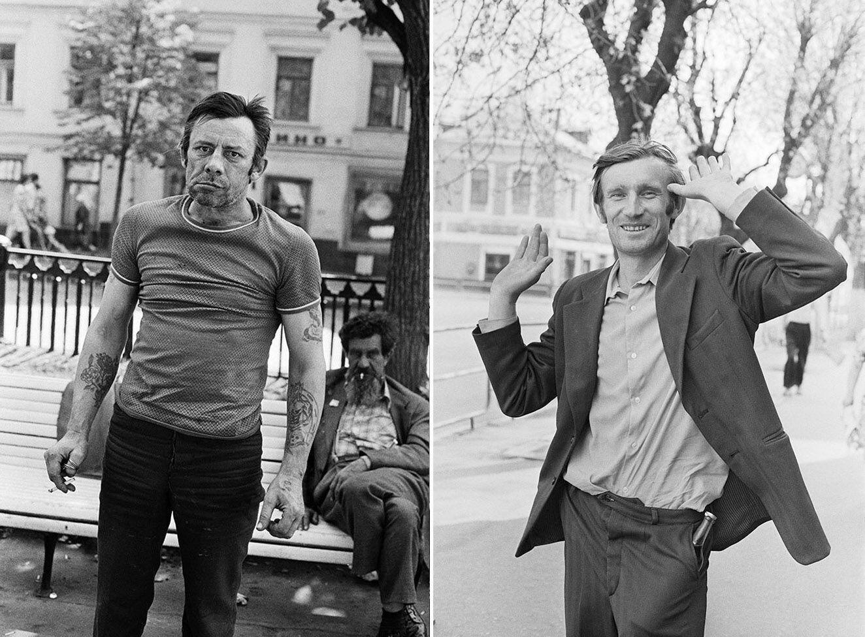Портрети радянських алкоголіків.