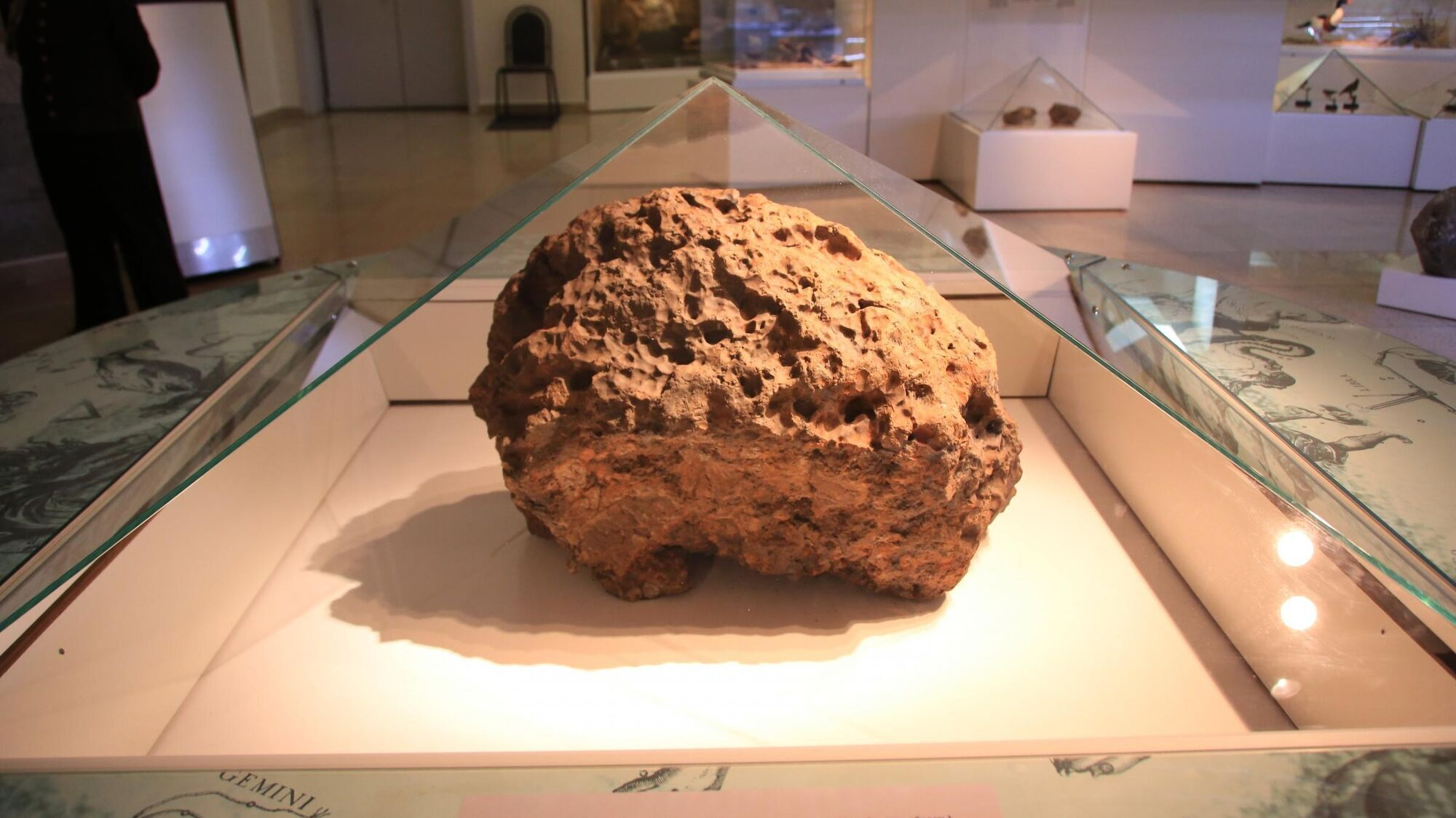 В момент взрыва Челябинский метеорит разлетелся на тысячи осколков