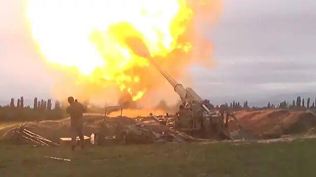 Возобновление боевых действий в Нагорном Карабахе в сентябре 2020-го.