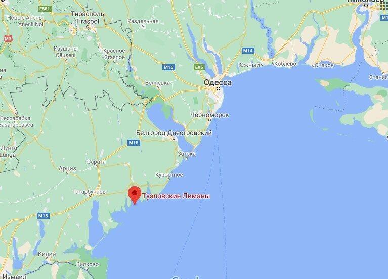 Пылевой вихрь зафиксировали в районе Тузловских лиманов.