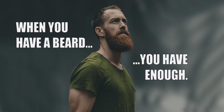 Мем о бороде