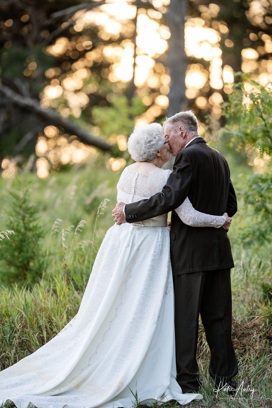 Люсіль Стоун і Марвін Стоун разом 60 років