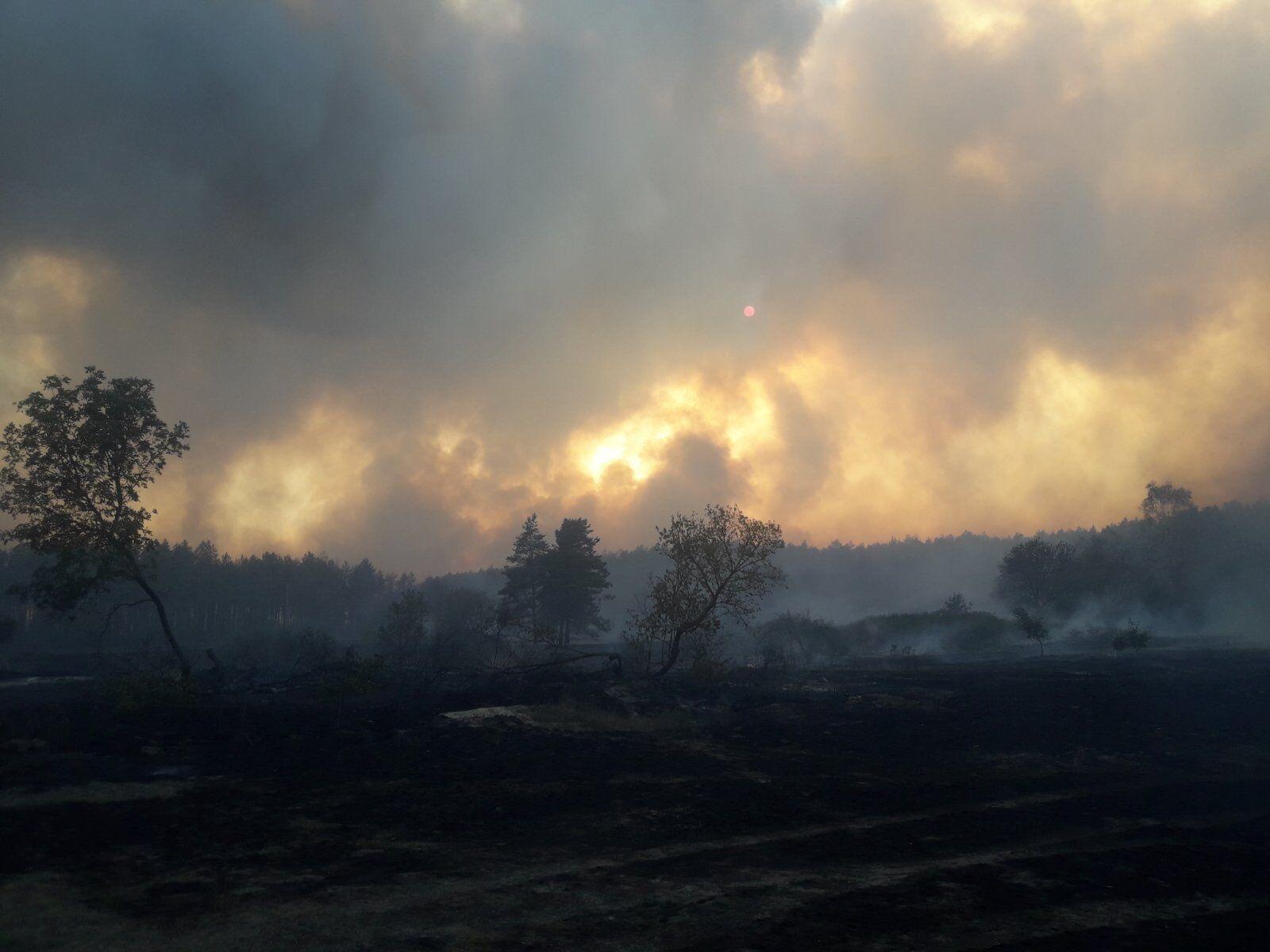 Пожежа на Харківщині.