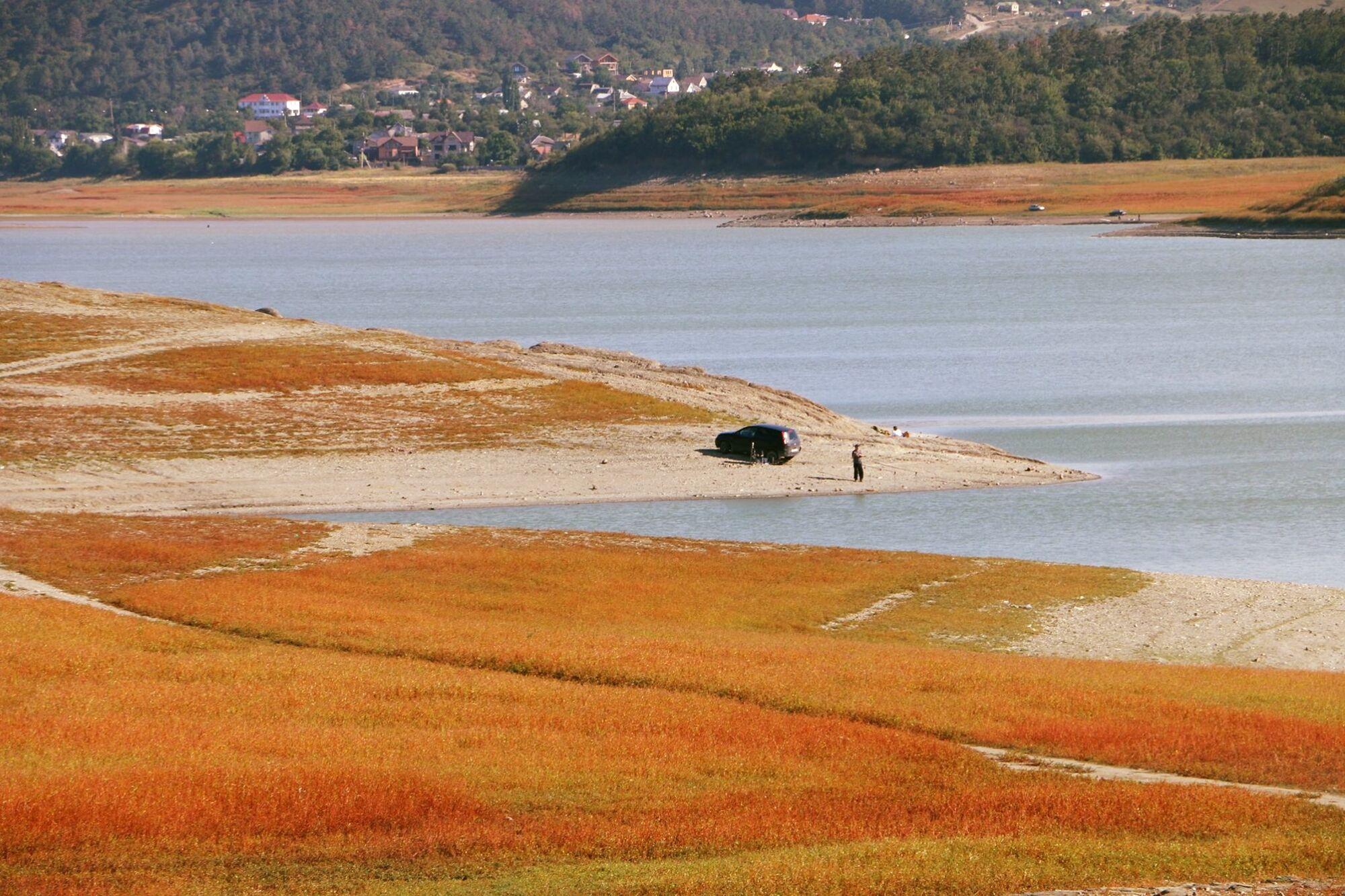 Загальний обсяг 14 водосховищ в Криму склав трохи більше 46 млн кубометрів