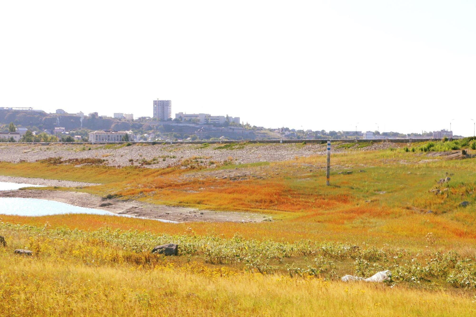 За останній місяць запаси водосховищ Криму зменшилися на 10 млн кубометрів