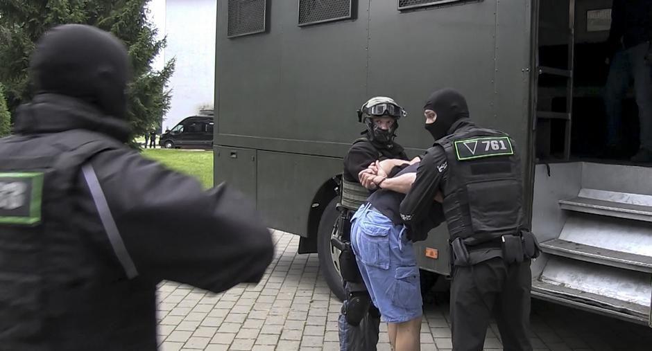 """Задержание """"вагнеровцев"""" в Беларуси."""