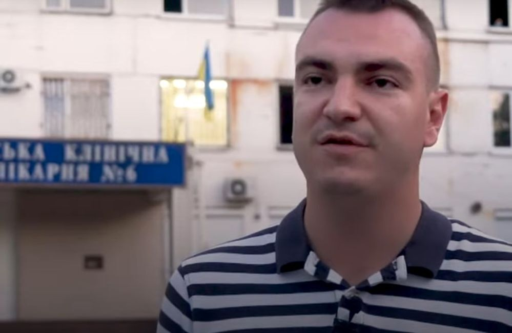 Потерпілий Станіслав Муха.