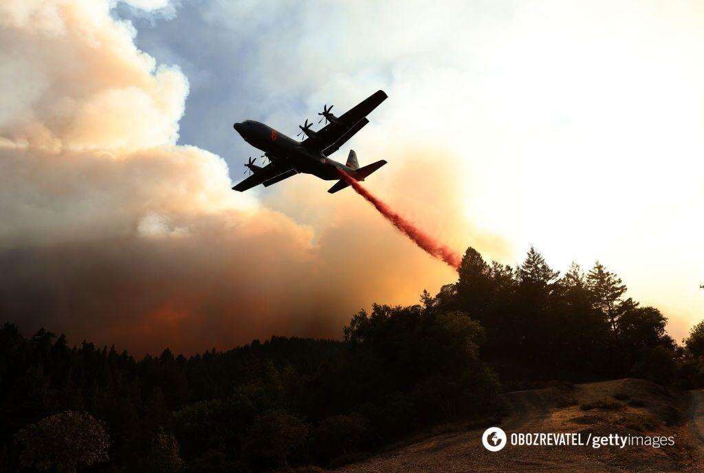 К ликвидации пожаров привлечены все пожарные силы и средства