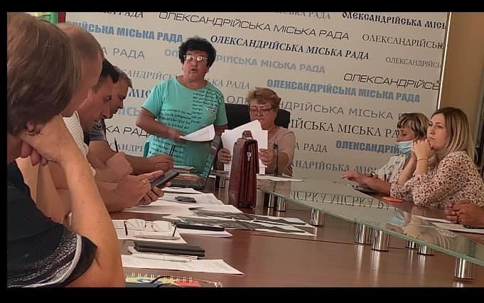 Драка между членами ТИК в Александрии произошла во время заседания комиссии.