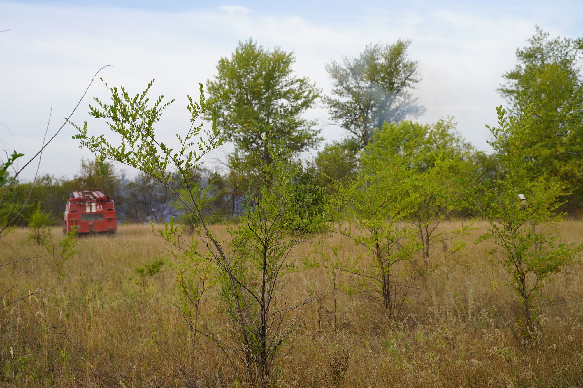 На Луганщине до сих пор есть несколько очагов тления.