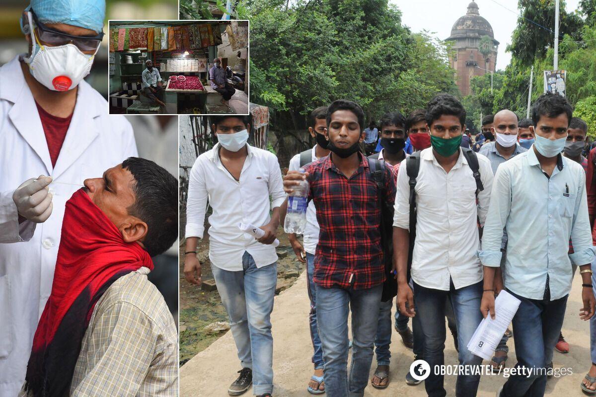 В Индии ввели массовое тестирование населения на COVID-19
